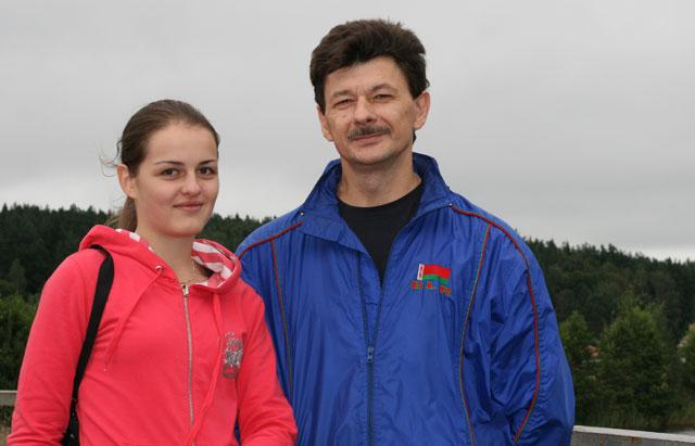 Ланита Стецко и Андрей Васильевич Ковалев. Раубичи-2010.