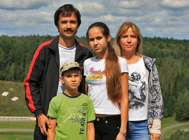 Семья Зезюлькиных